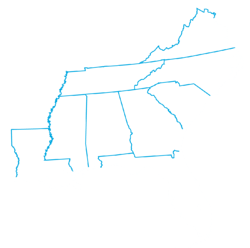 East coast_9 states_white inverse