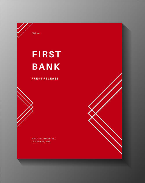 Press Release - First Bank